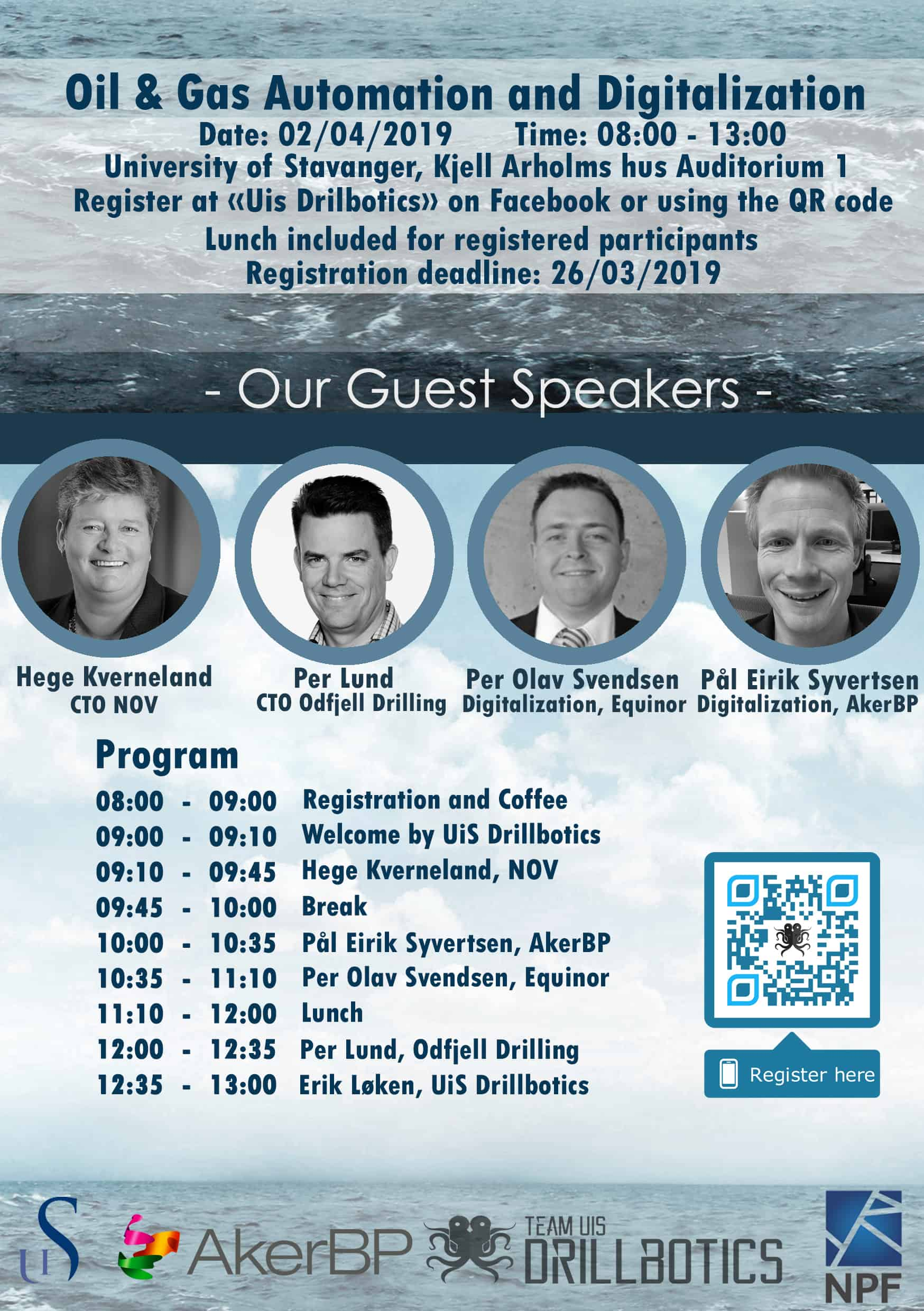 UiS Seminar: Oil & Gas Automation and Digitalization April 2nd in