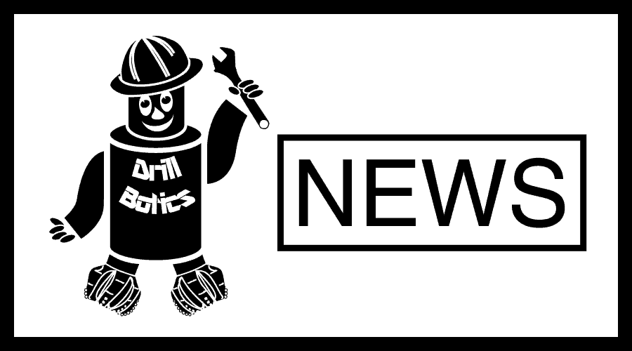 Drillbotics News - Robot logo